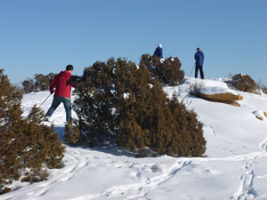 Cedar Ridge Academy co-ed therapeutic boarding school students cross country ski