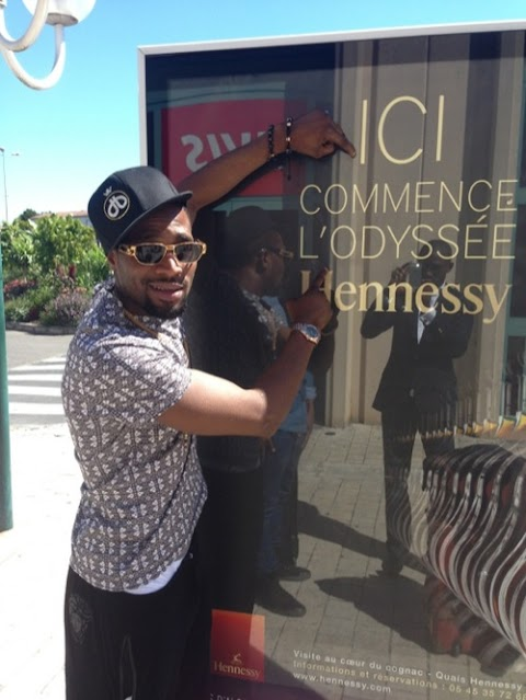 Photos: Hennessy Hosts D'banj at Chateau De Bangolet, In France
