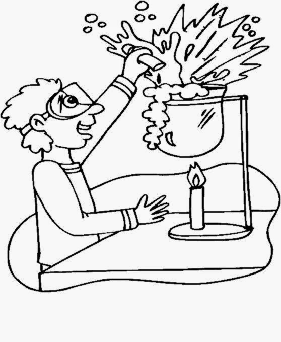 Awesome Scientist Coloring Pages Print Gallery Printable
