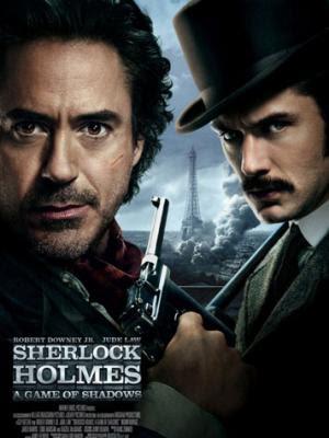 Sherlock Holmes 2 : Jeu d'ombres affiche