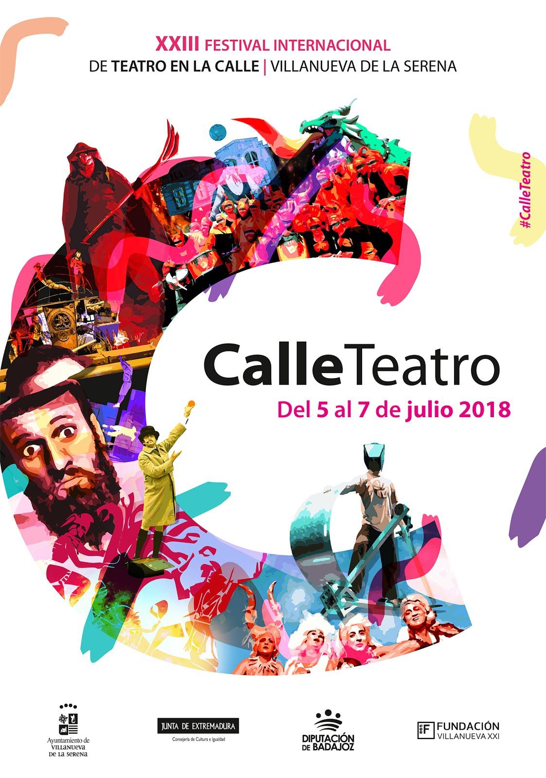 Teatro en la Calle Villanueva de la Serena 2018