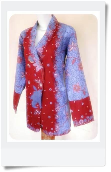 Model Baju Batik Contoh Model Baju Batik Menarik Modern
