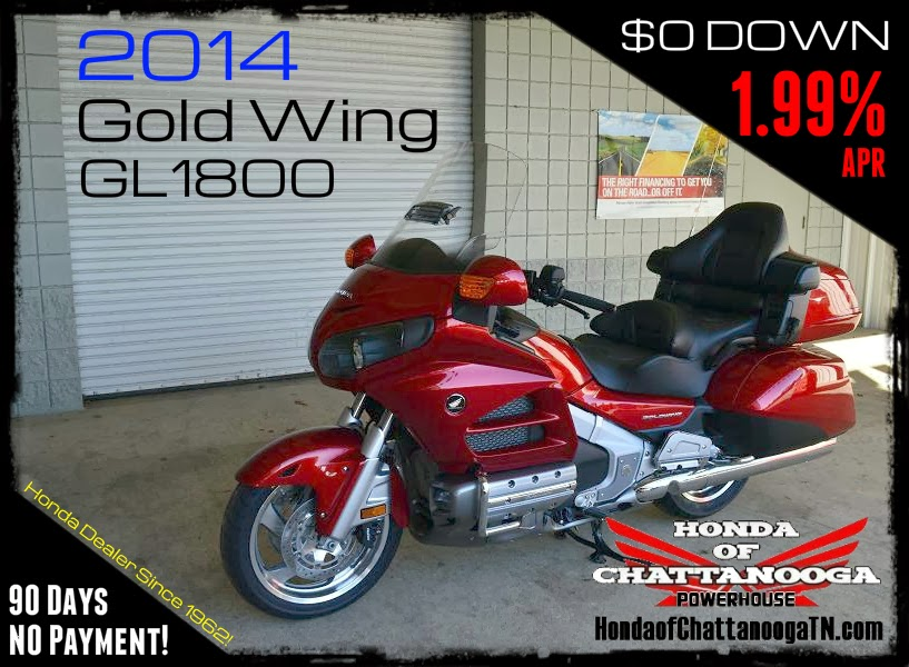 2014 Honda Gold Wing GL1800 GL18HPME For Sale Price Chattanooga TN PowerSports Dealer GoldWing Lowest Best SALE Prices