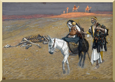 """The Flight into Egypt"" -- by James Tissot"