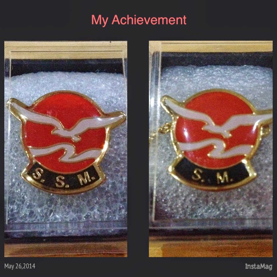 ACHIEVEMENT - SM & SSM Award