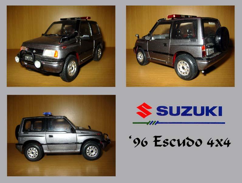 1996 suzuki escudo fujimi plastic model kit 1 24