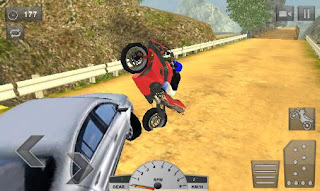 Screenshots of the Crazy offroad hill biker 3D for Android tablet, phone.