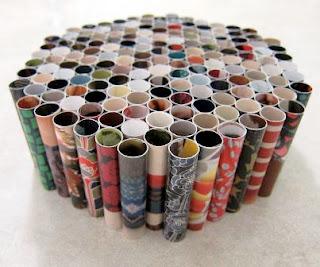Membuat dudukan Unik dari Kertas – Formasi Hexagon
