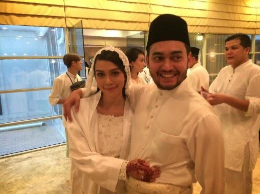 Sharifah Sakinah dan Aliff Adha sah bergelar suami isteri