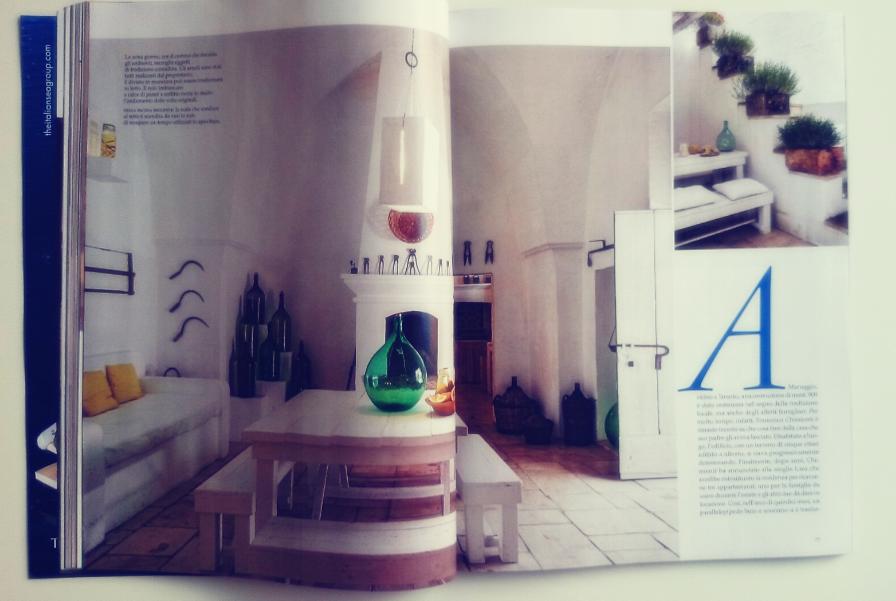 Aranżacja rustykalnego wnętrza w magazynie AD
