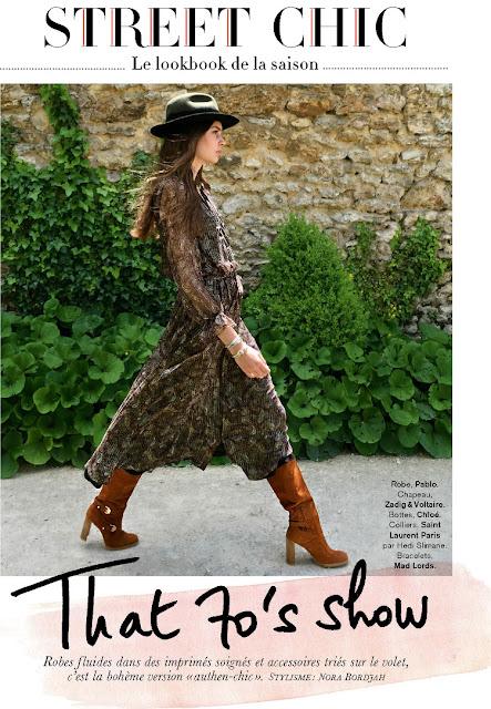 Model @ Roksana Manowicz - Glamour France, August 2015