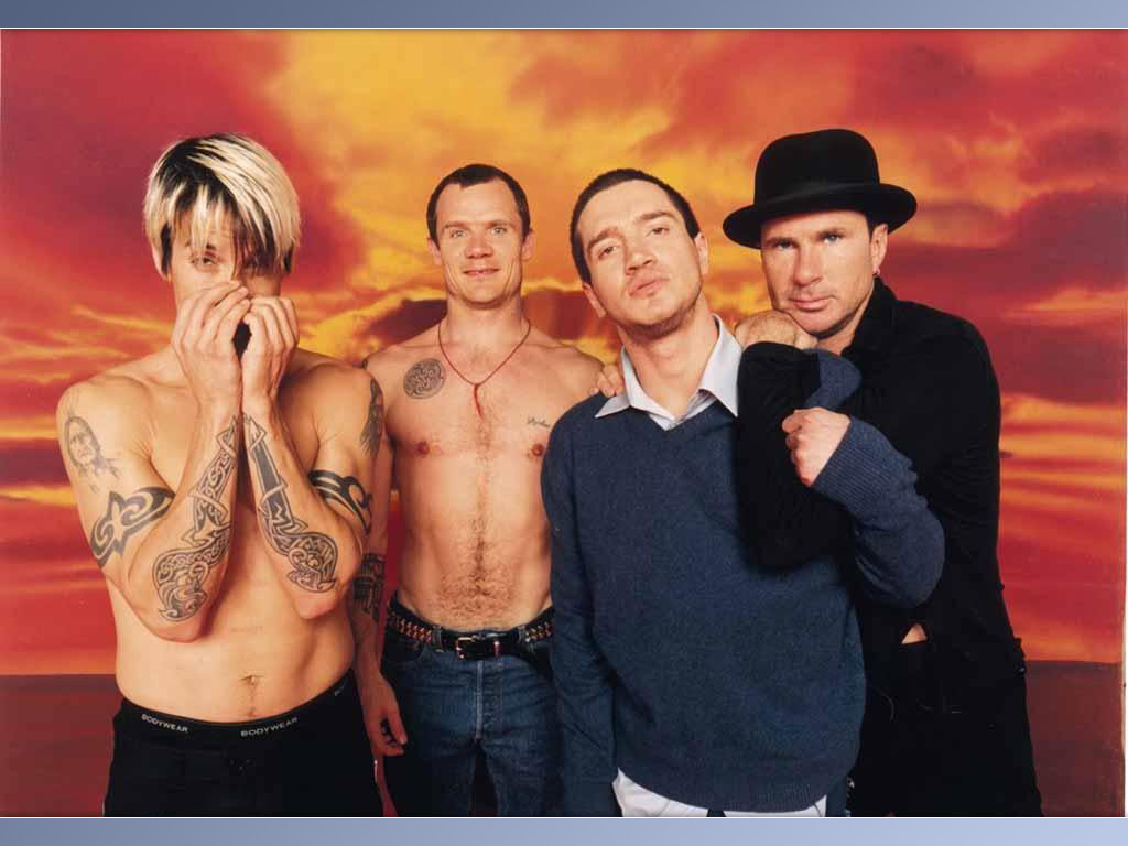 Red Hot Chili Peppers by Juan Esteban Olgieser Camacho