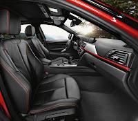 2013 BMW 3-Series (F30) 335i Sedan Sport Line: Interior Details: Front Seats