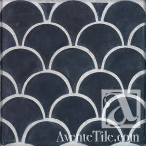 Arabesque Conche Spanish Paver Handmade Cement Tile