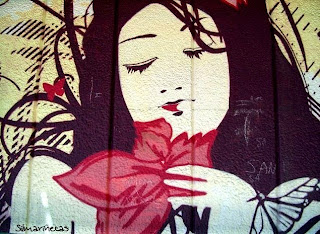 Murales en el barrio de Zaramaga en Vitoria - Álava