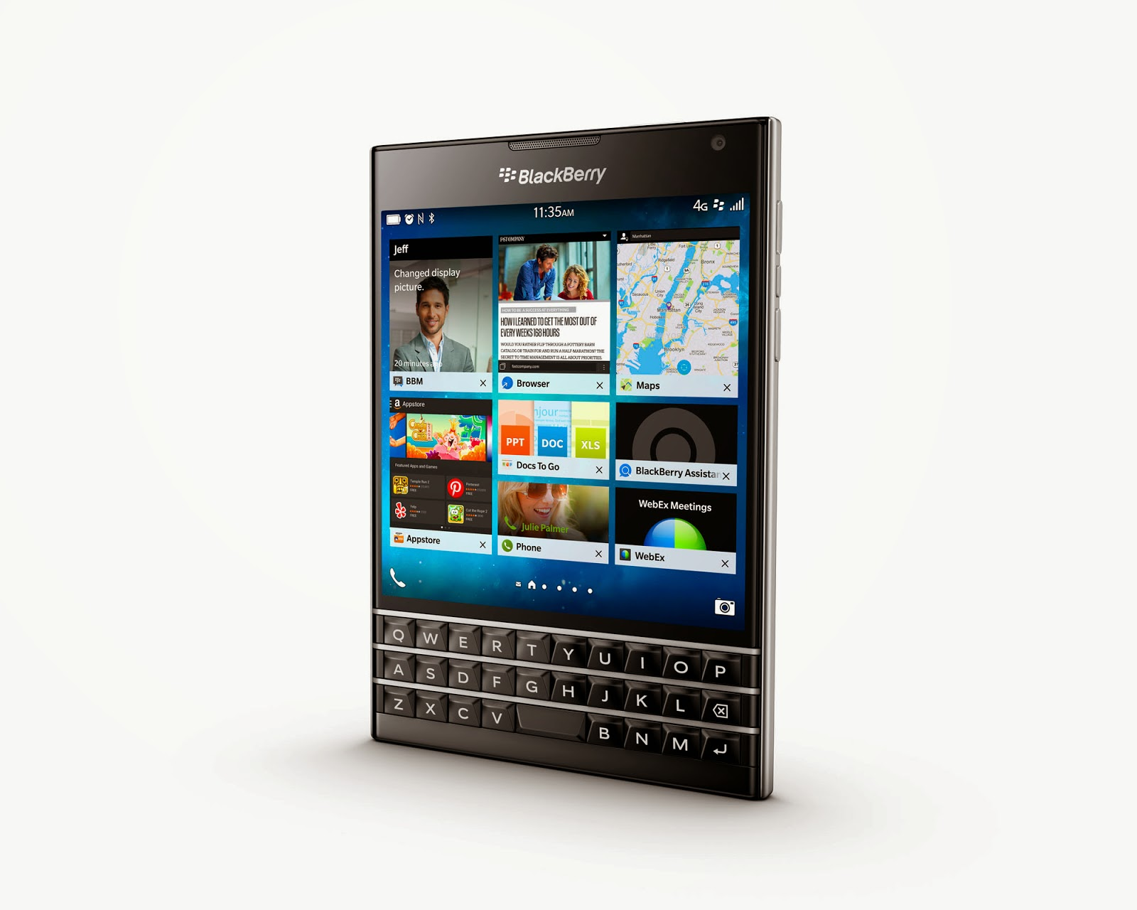 BlackBerry Passport Launched, Productivity Oriented Smartphone for P35,790