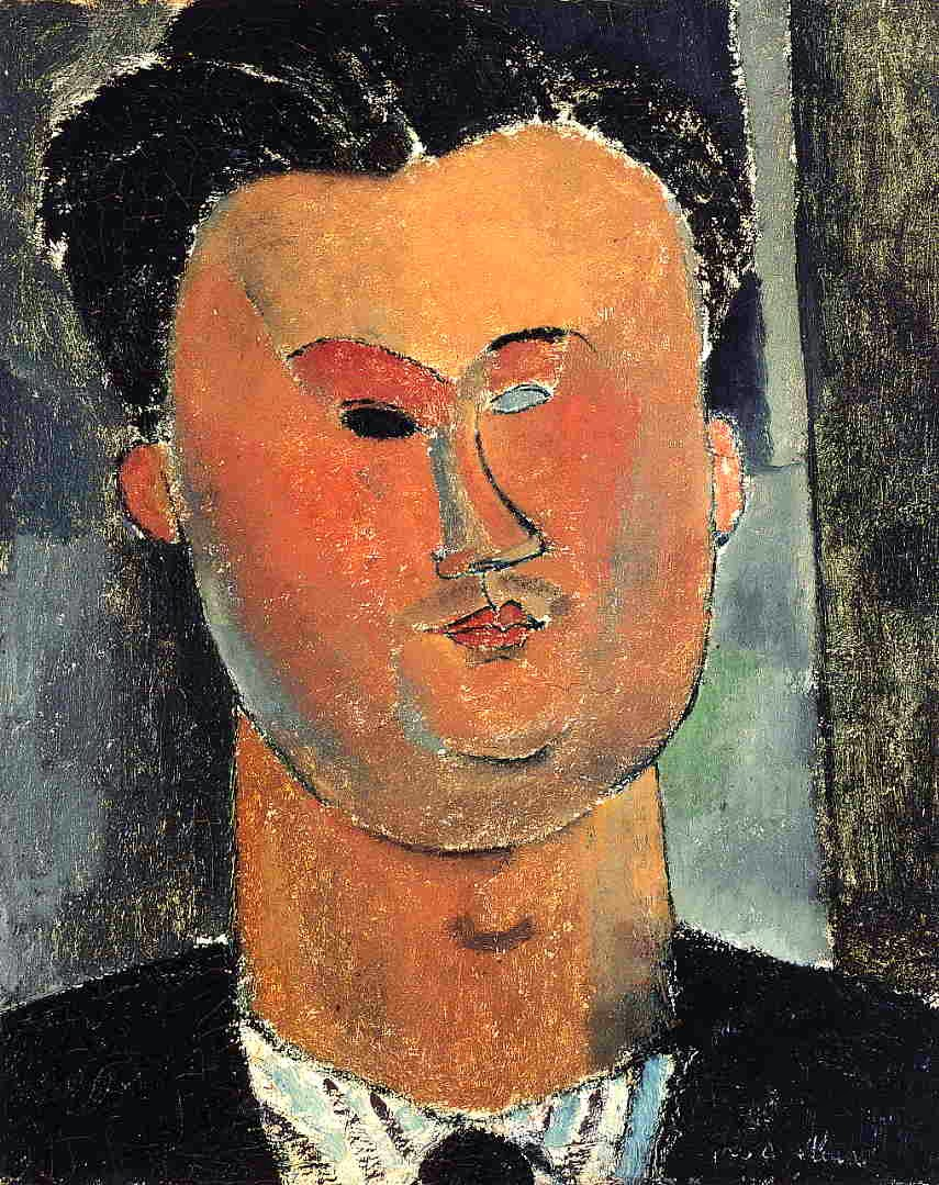 Amedeo Modigliani: Pierre Reverdy, 1915.