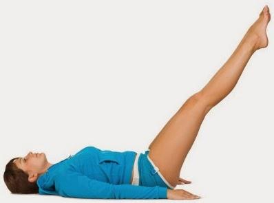 Leg Raised Pose Yoga