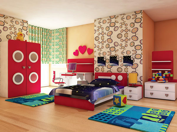 Desain Interior Kmar Tidur Anak Terbaru