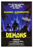 Picture of the movie poster for the film Demons