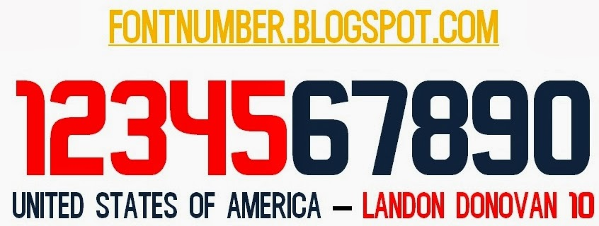 Usa soccerfootball font 2010 2013 sciox Choice Image
