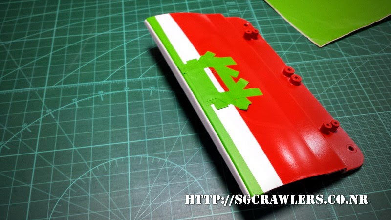 tamiya - Boolean21's Tamiya Highlift Tundra - new paint scheme - Ivan Stewart Toyota Theme 20140801_200124