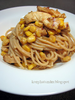 sweetcorn-chicken-spaghetti
