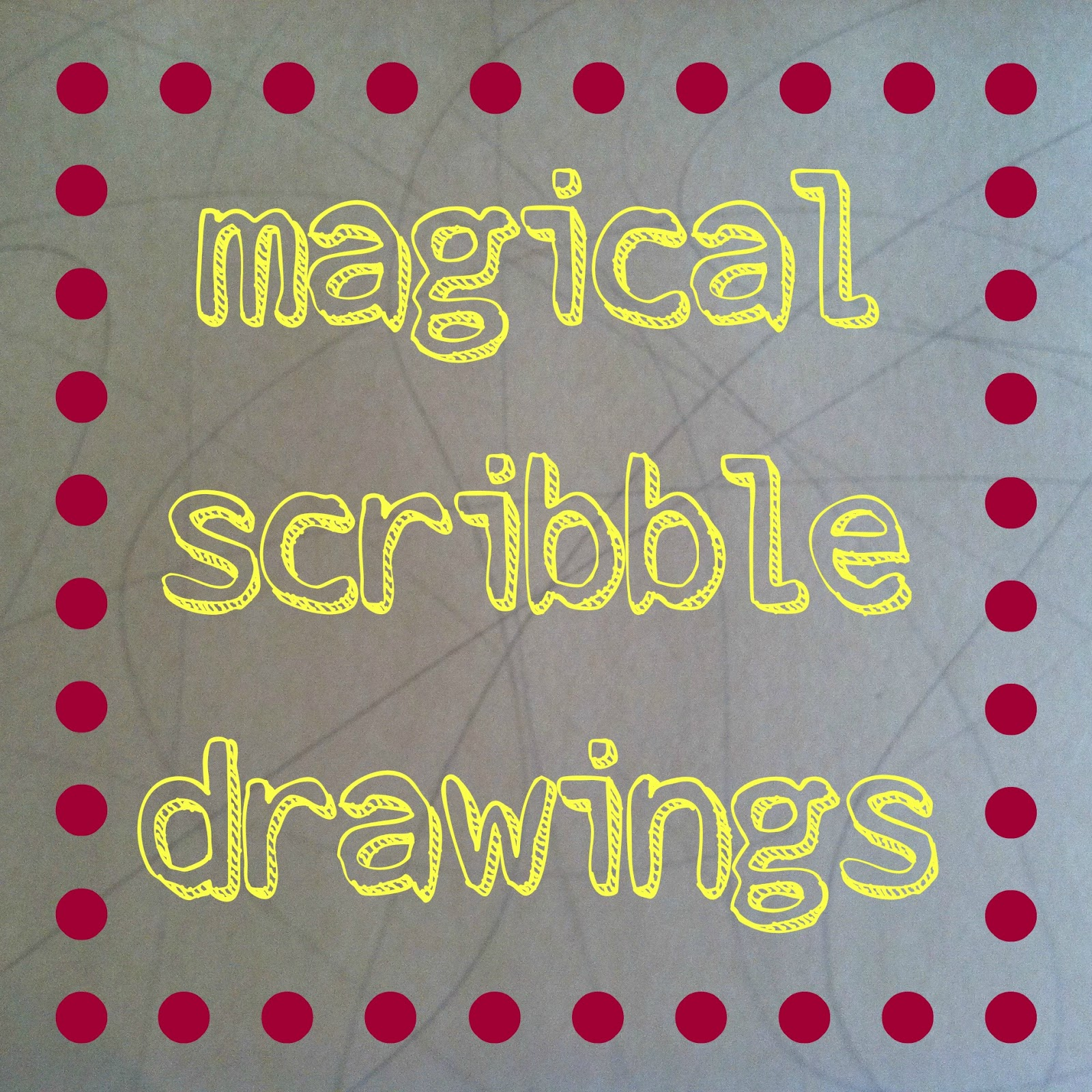 Scribbles Drawing Book : Mamascout magical scribble drawing and a book review