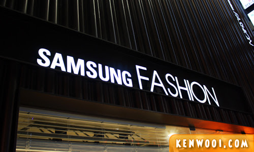 seoul samsung fashion
