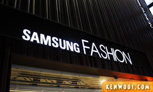 seoul samsung fashion