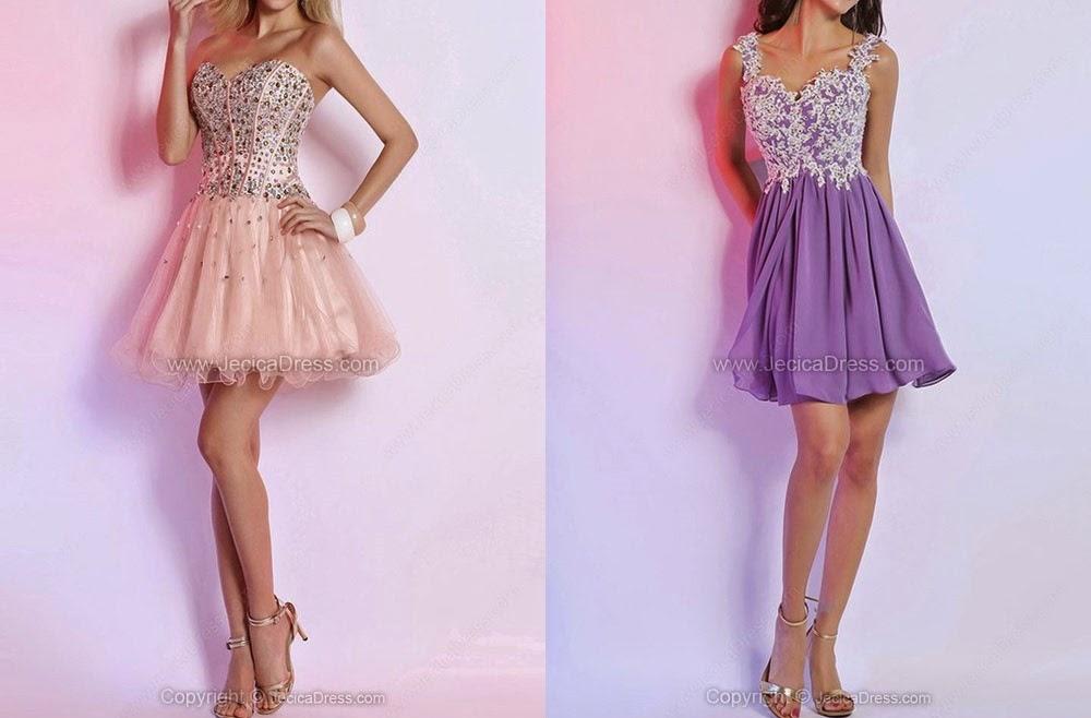 The Anita Kurkach Diaries: Short Prom Dresses with Jecicadress.com!