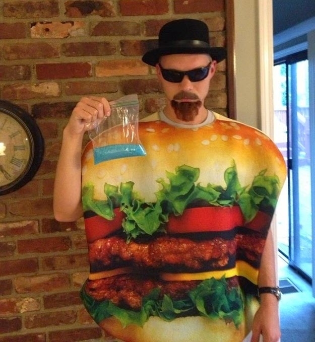 Funny Breaking Bad Heisenburger Costume