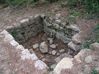 Indret on es troba la Font de Sant Julià d'Úixols