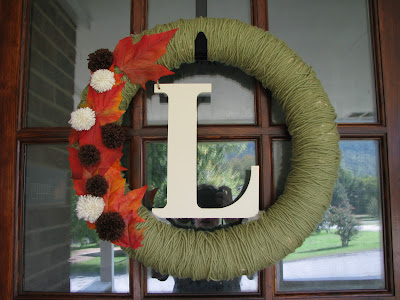 DIY Fall Wreaths {rainonatinroof.com} #wreath #DIY #fall
