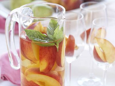 White Peach Sangria - Original Recipe | Fine Wine and Spirits