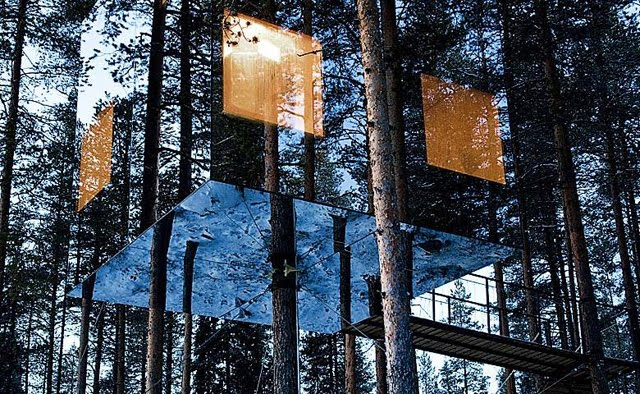 tree hotel harads sweden charlie and caroline 39 s blog. Black Bedroom Furniture Sets. Home Design Ideas