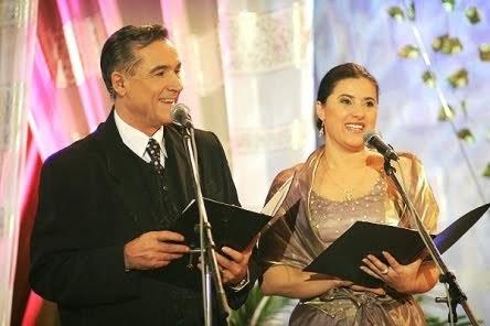 """Pitești, noiembrie 2006 - Prezentatoare la Festivalul """"Zavaidoc""""."""