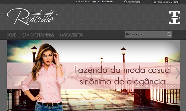 Camisaria feminina online