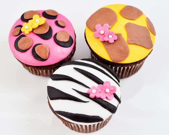 Beki Cooks Cake Blog Tween Girl Birthday Party Animal Print Cupcakes