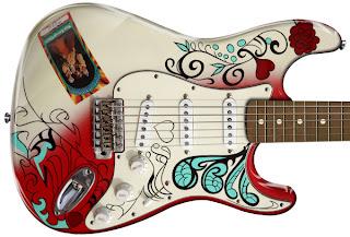 John Mayer Guitars - Fender Jimi Hendrix Monterey Pop Strat