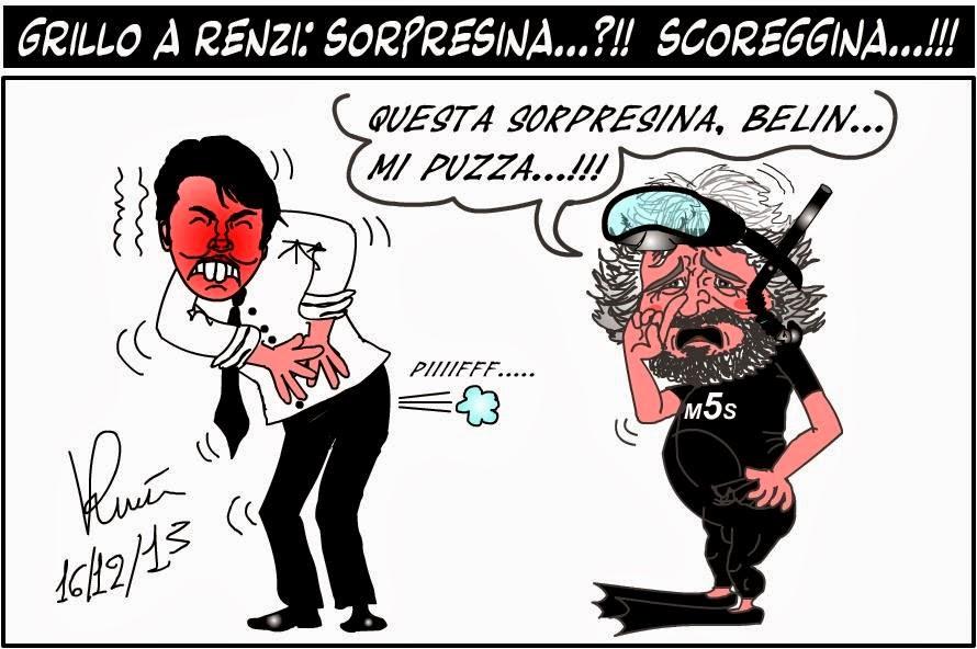 SEMPRE PIU' IN BASSO IL BON TON DELLA POLITICA TRA INSULTI, VARIE ED EVENTUALI
