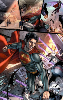 Review Superman Earth One J. Michael Straczynski Shane Davis Tyrell DC Comics original graphic novel ogn hardcover hc trade paperback tpb comic book