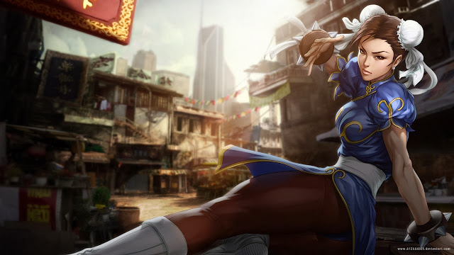 street fighter chun li wallpapers hd