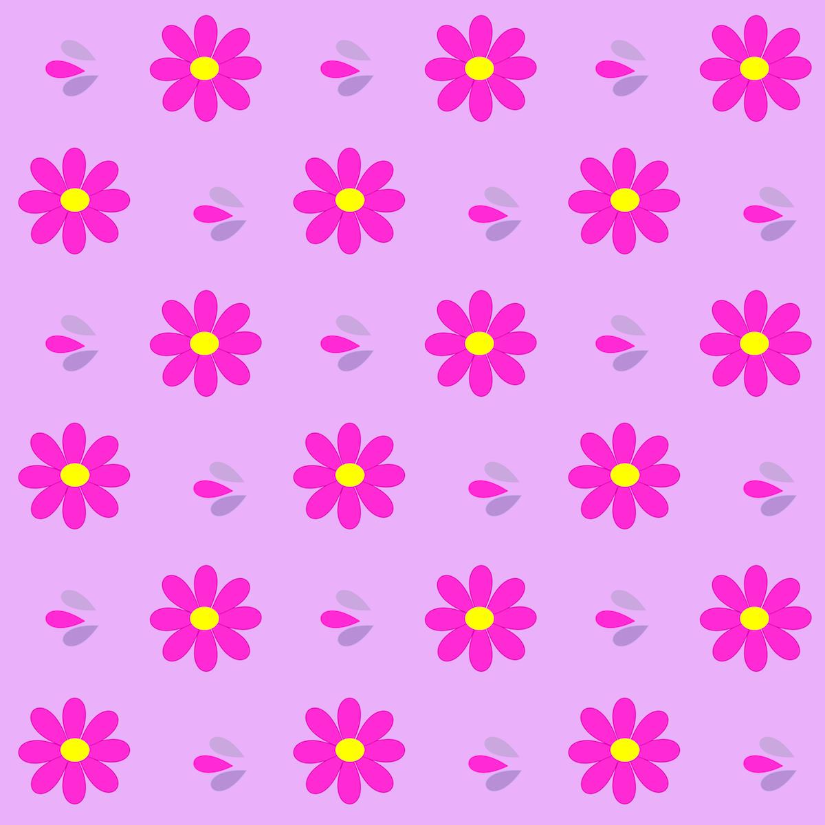Pink Daisy Scrapbooking Free Digital Neon Pink Daisy