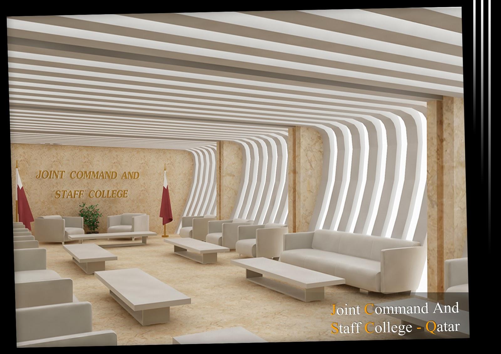Arch Michael Boules Interior Design For Private School Qatar
