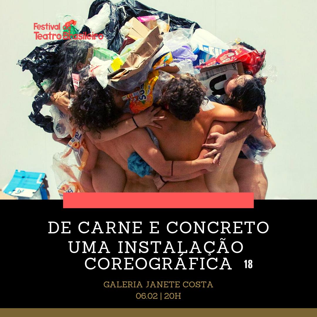 Começando os trabalhos de 2019 no Festival do Teatro Brasileiro - Cena Brasiliense ao Recife-PE