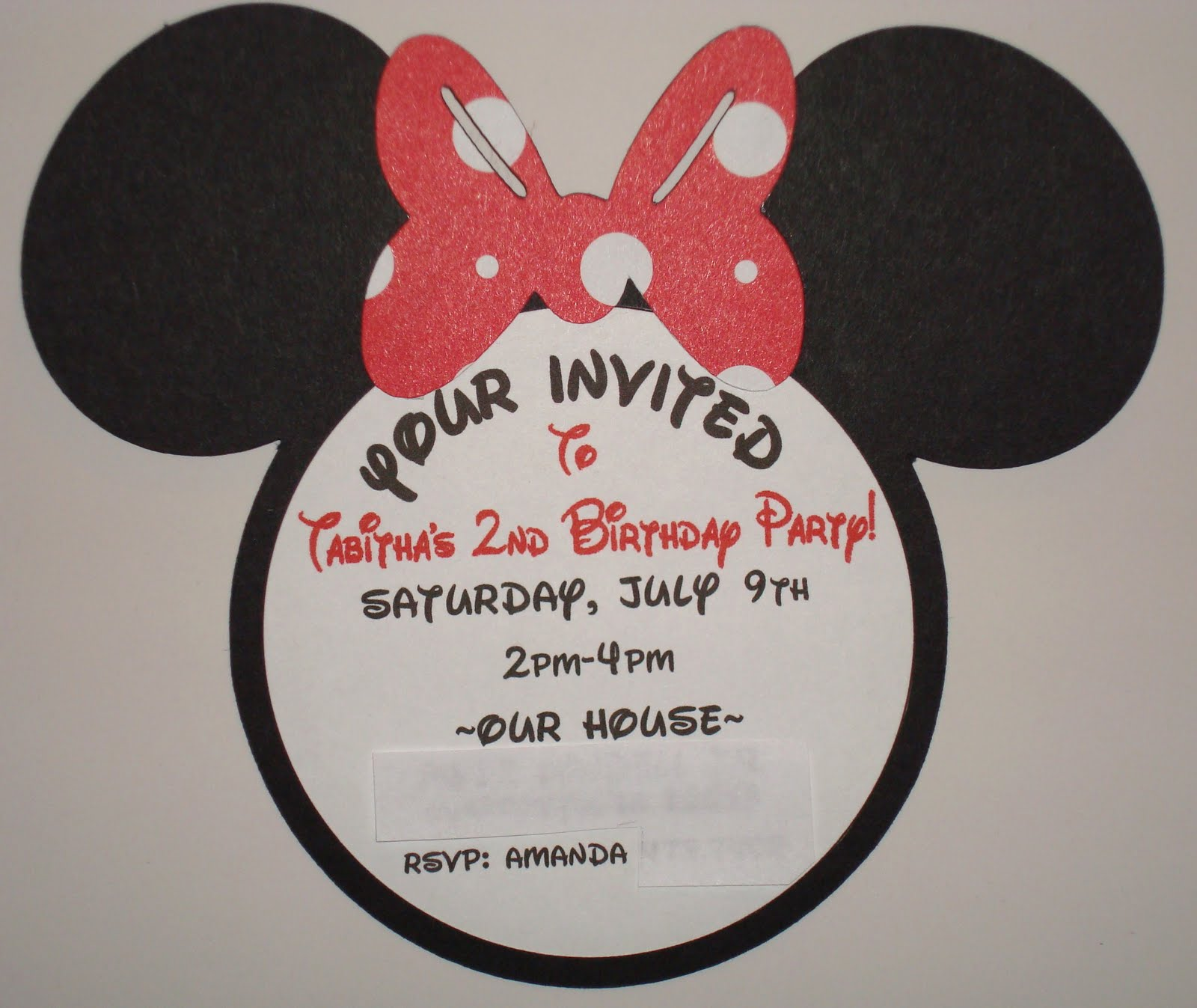 Minnie Mouse Photo Birthday Invitations was very inspiring ideas you may choose for invitation ideas