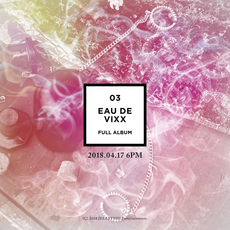 [Click & Order] VIXX - Eau De VIXX (3rd Album)