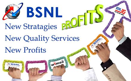 BSNL Profits bounce back