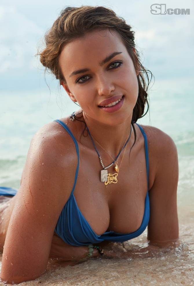 ... Model Irina Sheyk Got The Sports Illustrated Swimsuit Edition Cover